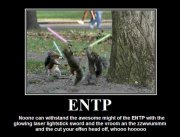 ENTP Squirrels with Lightsabers